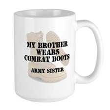 Army Sister Brother wears DCB Mugs