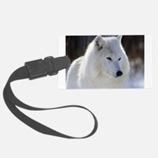 2329_White_Wolf.jpg Luggage Tag