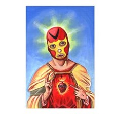 Jesus de la Lucha Libre Postcards (Package of 8)