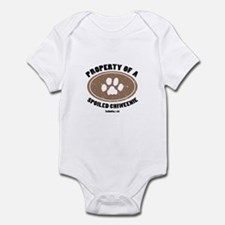 Chiweenie dog Infant Bodysuit