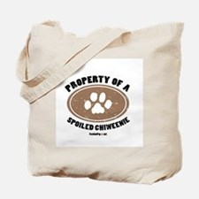 Chiweenie dog Tote Bag