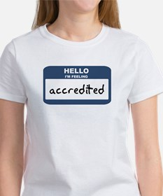 Feeling accredited Women's T-Shirt
