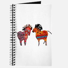 Colorful Totem Ponies Journal