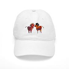 Colorful Totem Ponies Baseball Baseball Cap