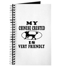 My Chinese Crested Is Very Friend Journal