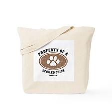 Chion dog Tote Bag