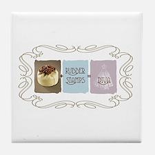 Sweet Sanity Diva Tile Coaster