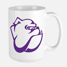 Garfield High School Bulldog Purple Mugs