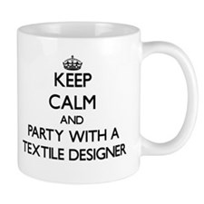Keep Calm and Party With a Textile Designer Mugs