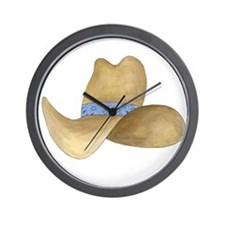 Cowboy Hat Wall Clock