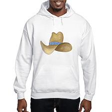 Cowboy Hat Hoodie Sweatshirt
