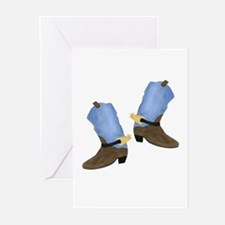 Cowboy Boot Greeting Cards (Pk of 20)