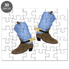 Cowboy Boot Puzzle