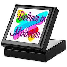 BELIEVE IN MIRACLES Keepsake Box