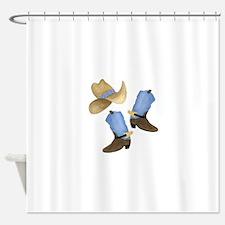 Cowboy - Western Shower Curtain