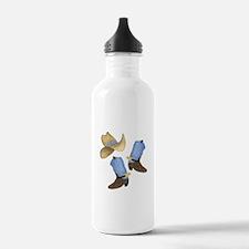 Cowboy - Western Water Bottle