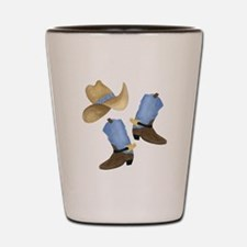 Cowboy - Western Shot Glass