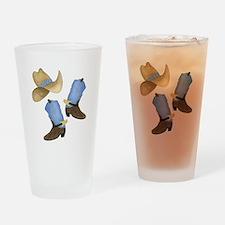 Cowboy - Western Drinking Glass