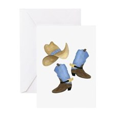 Cowboy - Western Greeting Card