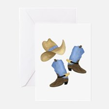 Cowboy - Western Greeting Cards (Pk of 20)