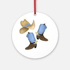 Cowboy - Western Ornament (Round)