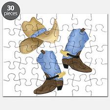 Cowboy - Western Puzzle