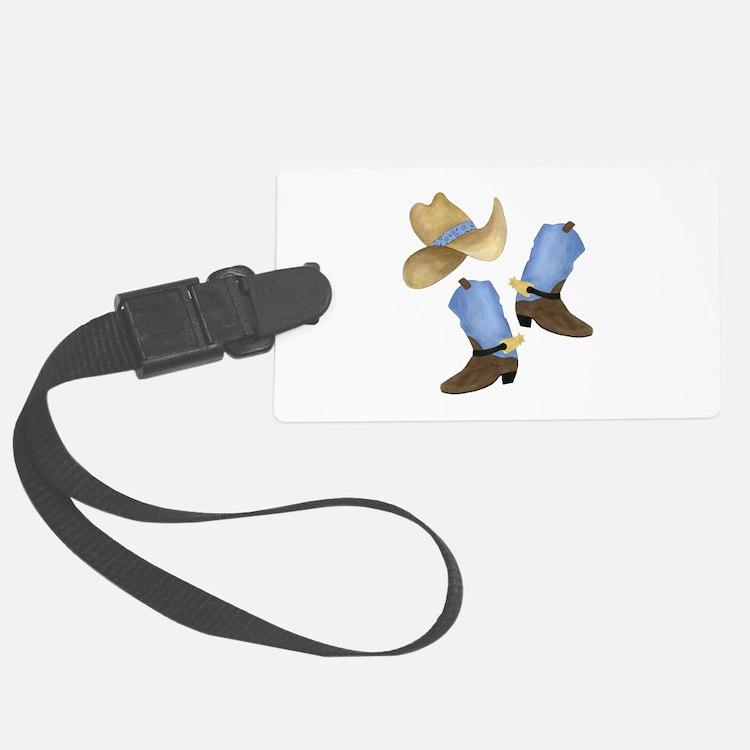 Cowboy - Western Luggage Tag