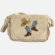 Cowboy - Western Messenger Bag