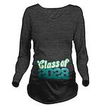Class of 2028 Long Sleeve Maternity T-Shirt