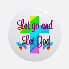 PRAISE GOD Ornament (Round)
