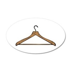 Clothes Hanger Wall Decal
