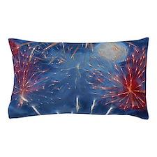 Fractal Fireworks Pillow Case
