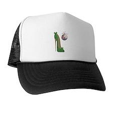 Christmas Stiletto Trucker Hat
