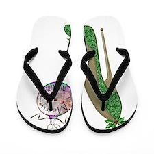 Christmas Stiletto Flip Flops