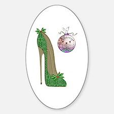 Christmas Stiletto Decal