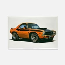 BabyAmericanMuscleCar_70CHLGR_Orange Magnets