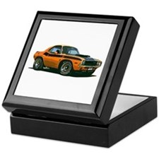BabyAmericanMuscleCar_70CHLGR_Orange Keepsake Box
