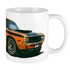 BabyAmericanMuscleCar_70CHLGR_Orange Mugs