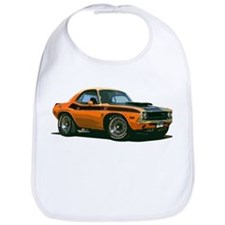 BabyAmericanMuscleCar_70CHLGR_Orange Bib
