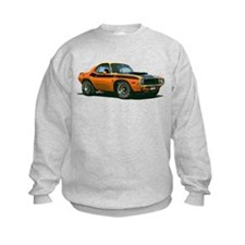 BabyAmericanMuscleCar_70CHLGR_Orange Sweatshirt