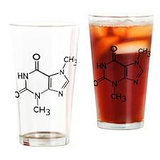 Chocolate theobromine organic compo Drinking Glass