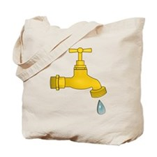 Water Spigot Tote Bag