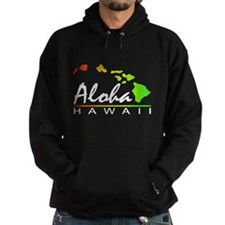 ALOHA Hawaii (Distressed Design) Hoodie