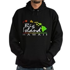 BIG ISLAND - Hawaii (Distressed Design) Hoodie