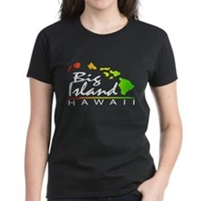 BIG ISLAND - Hawaii (Distressed Design) T-Shirt