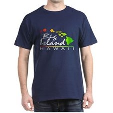 BIG ISLAND - Hawaii (Distressed Design) T-Shirt