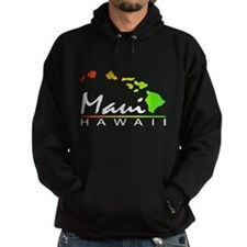 MAUI Hawaii (Distressed Design) Hoody