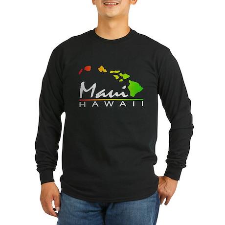 MAUI Hawaii (Distressed Design) Long Sleeve T-Shir