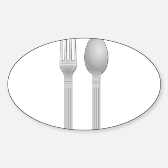 Fork and Spoon Decal