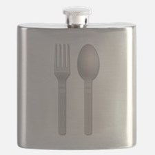 Fork and Spoon Flask
